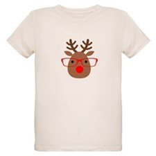 Hipster Reindeer T-Shirt