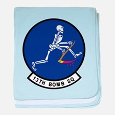 13th_bomb_sq.png baby blanket