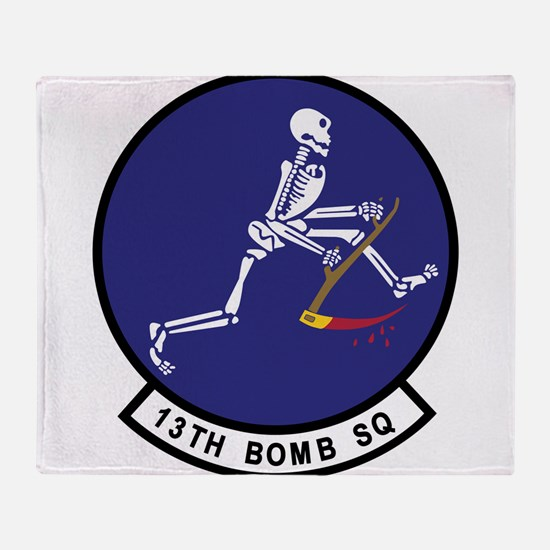 13th_bomb_sq.png Throw Blanket