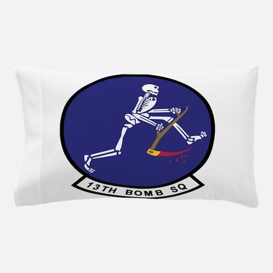 13th_bomb_sq.png Pillow Case