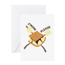 Smore Please Greeting Cards