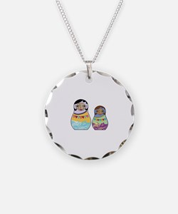 Girl Dolls Necklace