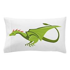Green Dragon Pillow Case