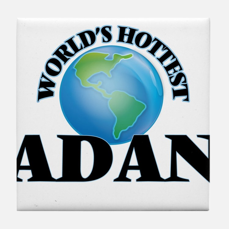 World's Hottest Adan Tile Coaster
