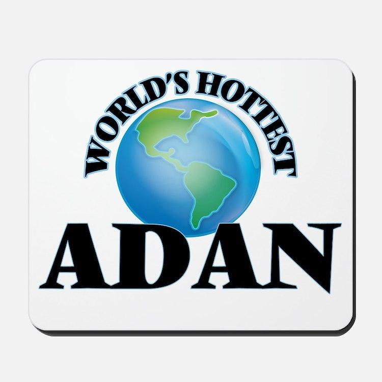 World's Hottest Adan Mousepad