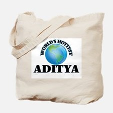 World's Hottest Aditya Tote Bag