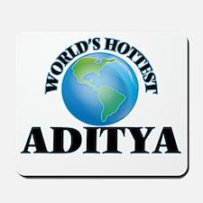 World's Hottest Aditya Mousepad