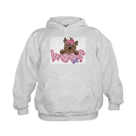 WOOF Doggie - Kids Hoodie