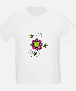 Tennis Flower T-Shirt
