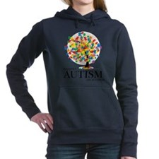 Cute Autism Women's Hooded Sweatshirt