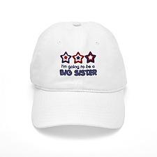 4th of July big Sister Baseball Cap