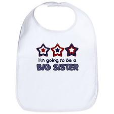 4th of July big Sister Bib