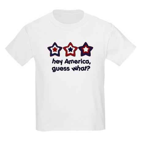 4th of July big Sister Kids Light T-Shirt