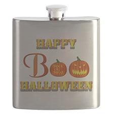 Halloween - Boo Pumpkin Flask