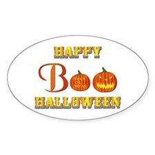 Halloween - Boo Pumpkin Decal