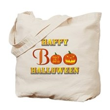 Halloween - Boo Pumpkin Tote Bag