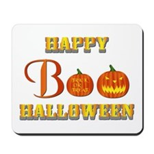 Halloween - Boo Pumpkin Mousepad