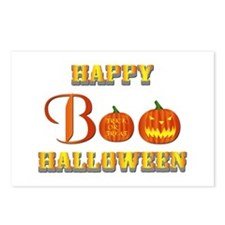 Halloween - Boo Pumpkin Postcards (Package of 8)