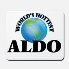 World's Hottest Aldo Mousepad