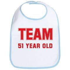 Team 51 YEAR OLD Bib