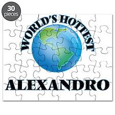 World's Hottest Alexandro Puzzle