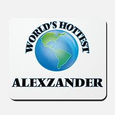 World's Hottest Alexzander Mousepad