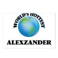 World's Hottest Alexzande Postcards (Package of 8)