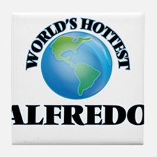 World's Hottest Alfredo Tile Coaster