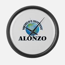 World's Hottest Alonzo Large Wall Clock
