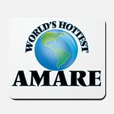 World's Hottest Amare Mousepad