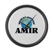 World's Hottest Amir Large Wall Clock