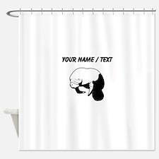 Custom Manatee Shower Curtain