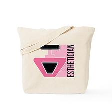 Pink Nail Polish Esthetician Tote Bag