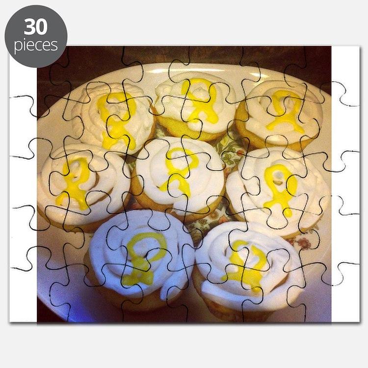 Cute Endometriosis awareness Puzzle