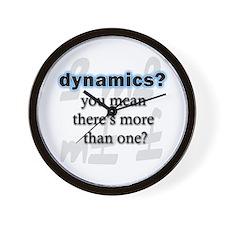 Dynamics? Wall Clock