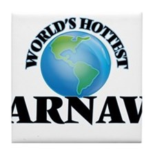 World's Hottest Arnav Tile Coaster