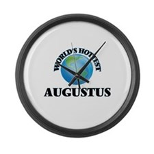 World's Hottest Augustus Large Wall Clock