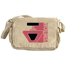 Esthetician Career Job Design Messenger Bag