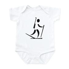 Biathlon icon Infant Bodysuit