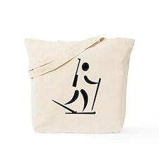 Biathlon icon Tote Bag