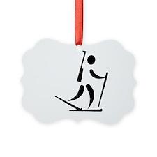 Biathlon icon Ornament