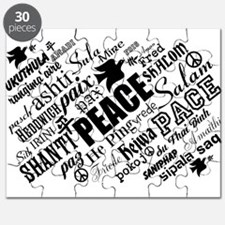 PEACE in different languages Puzzle