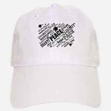 PEACE in different languages Baseball Baseball Cap