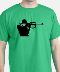 Biathlon shooting T-Shirt