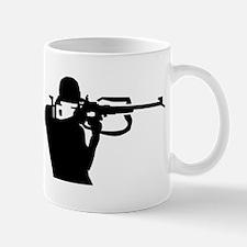 Biathlon shooting Mug