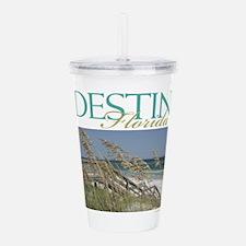 Destin Beach Access Acrylic Double-wall Tumbler