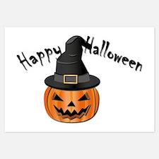 Halloween Pumpkin Invitations