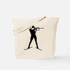 Biathlon sports Tote Bag