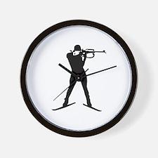 Biathlon sports Wall Clock