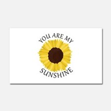 You Are My Sunshine Car Magnet 20 x 12